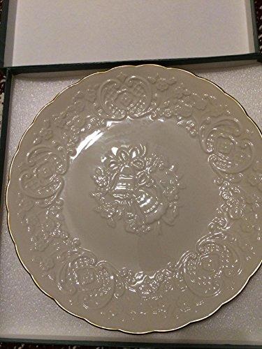 Lenox Wedding Promises Ivory China Marriage Plate