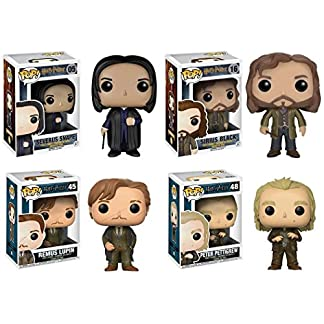Figurine pop Harry Potter vinyle - Harry Potter: Severus Snape + Sirius Black + Remus Lupin + Peter Pettigrew