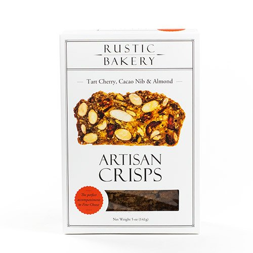 Tart Cherry and Cacao Nib Artisan Crisps by Rustic Bakery (5 ()