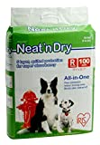 IRIS Neat 'n Dry Premium Pet Training Pads, Regular, 100 Count