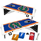 Florida Gators Fanatic Baggo Bean Bag Toss Portable Cornhole Tailgate Game with