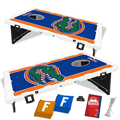Florida Gators Fanatic Baggo Bean Bag Toss Portable Cornhole Tailgate Game with by Baggo