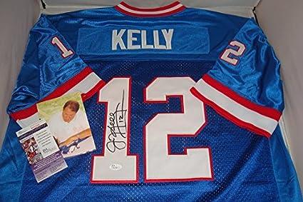 effbb815b8b Jim Kelly Signed Buffalo Bills Jersey  12