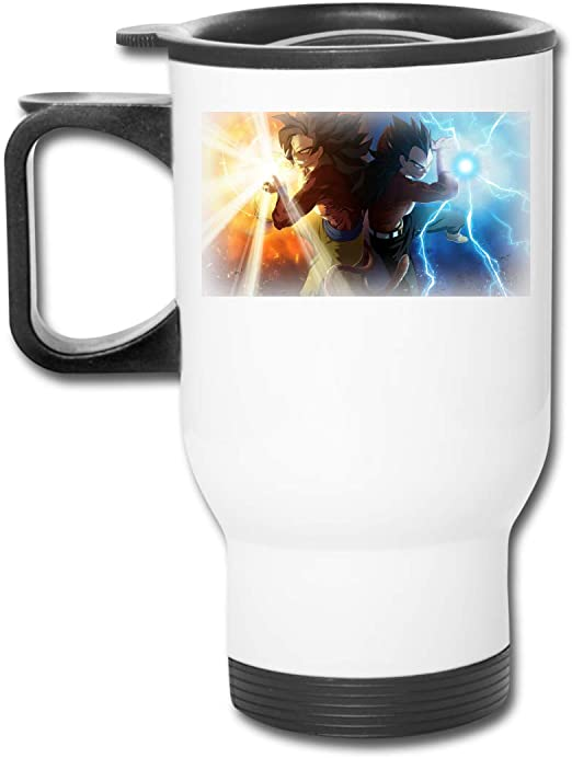 DragonBall Z Super Saiyan Can Bottle Vacuum Coffee Cup Thermal Stainless Steel
