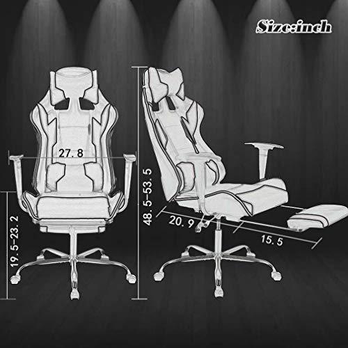 BestMassage Chair Ergonomic High Back with Lumbar and Headrest