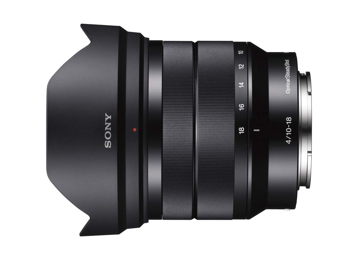 Sony - E 10-18mm F4 OSS Wide-angle Zoom Lens (SEL1018) by Sony