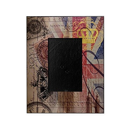 CafePress - Vintage British Flag London UK Fashi - Decorative 8x10 Picture - Frames London Vintage
