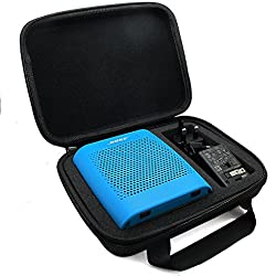MarkStore(TM) Black Hard EVA Carry Travel ShockProof Case Protective Skin Handle Bag For Bose Soundlink Color Bluetooth Mobile Wireless Speaker with Power Adaptor