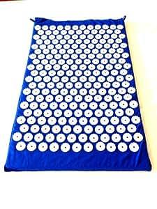 Amazon.com : Blue Acupressure Mat Yoga Mat Acupuncture Mat ...