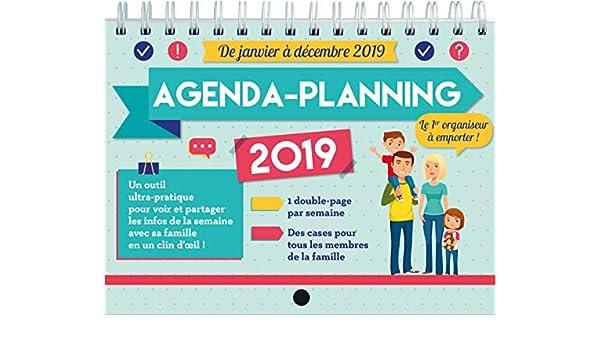 agenda-planning memoniak 2019: Collectif: Amazon.es: Oficina ...