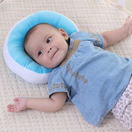 Kakiblin Baby Pillow Anti Flat Head Syndrome Ultra Soft