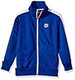 Southpole Little Boys' Full-Zip Athletic Track Jacket, Royal, Small