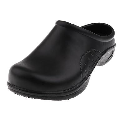 für die ganze Familie 2019 am besten groß auswahl Homyl Herren Damen Berufsschuhe Clog Sicherheitsschuhe Arbeitsschuhe  Anti-Rutsch Pantoffeln Kochschuhe Laborschuhe Gartenschuhe