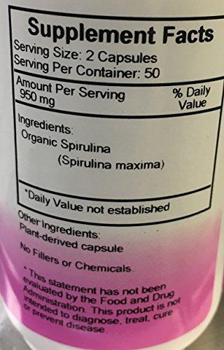 Spirulina Dr. Christopher 100 VCaps by Dr. Christopher's (Image #2)