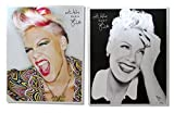 Pink P!nk Truth About Love Photo Head Shot Pic 2 Piece Gift Set