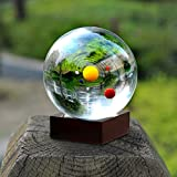 Sumnacon Clear Crystal Ball Sphere 80mm / 3 inch