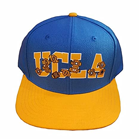 1db7f83a Image Unavailable. Image not available for. Color: adidas UCLA SLD  Adjustable Snapback HAT ...