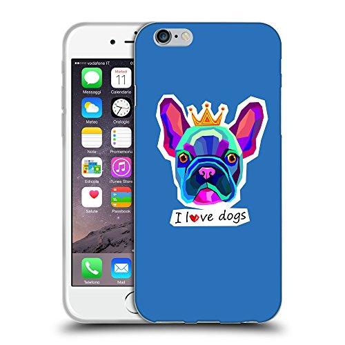 GoGoMobile Coque de Protection TPU Silicone Case pour // Q05070608 Couronne bulldog Azur // Apple iPhone 7