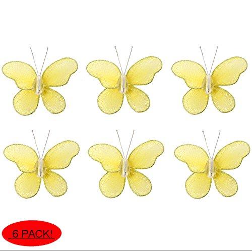 Bugs-n-Blooms Nylon Butterflies Pack of 6-2