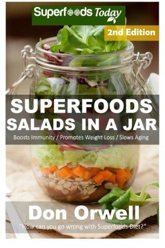 Superfoods Salads Jar Cholesterol Cooking Mason