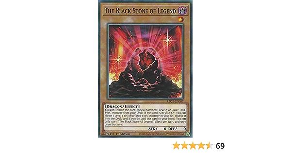 Common LDS1-EN007 1st Edition x3 The Black Stone of Legend Near Mint