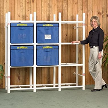 Bin Warehouse DFAE2MBW0431 Storage System for 12-Totes