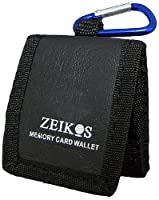 Zeikos ZE-MC3A Memory Card Wallet for up to 3 Memory Cards