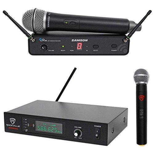SAMSON Concert 88 Wireless Handheld 16-Channel UHF Microphone+Free Mic System