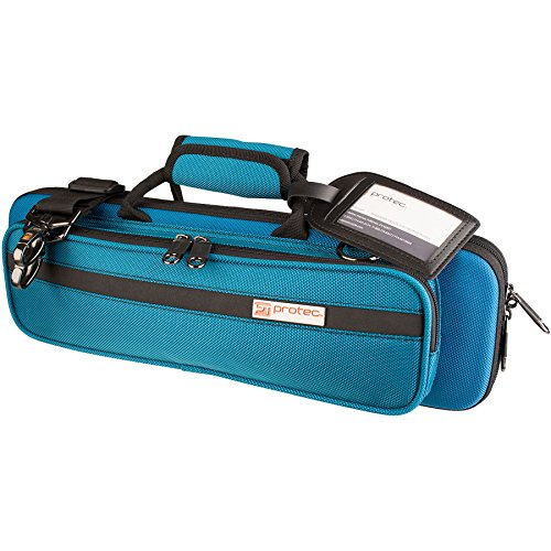 Protec PB308TB  Flute Slimline PRO PAC Case,  Teal Blue by ProTec