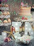 Sharlity Starfish and Mermaid Set Cute for Cake