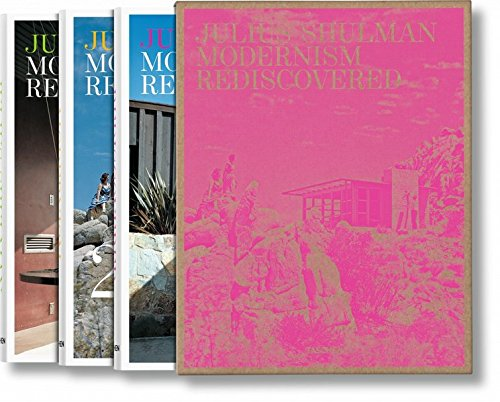 Julius Shulman: Modernism Rediscovered (3 volumes) (Multilingual Edition) by Shulman Julius
