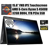 HP Envy X360 2020 Premium 2 in 1 Business Laptop I