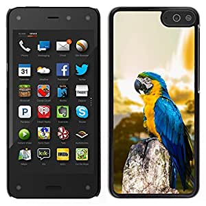 iKiki Tech / Estuche rígido - Macaw Blue Parrot - Amazon Fire Phone