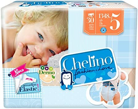 Chelino Fashion & Love Junior - Pañal infantíl, talla 5, 1 pack ...