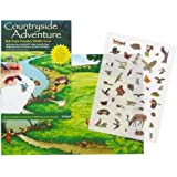 Countryside Adventure - Rub Down Transfers Wildlife Scene