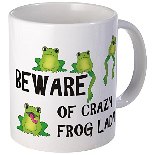 CafePress Beware Crazy Unique Coffee