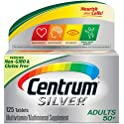 125-Count Centrum Multivitamin / Multimineral Supplement Tablet
