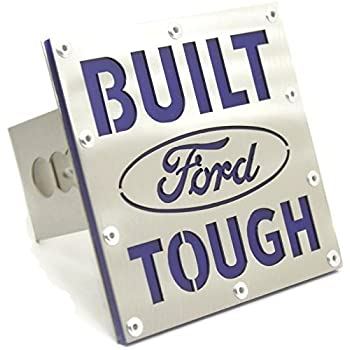 Amazon Com Built Ford Tough 2 Hitch Plug Cover Cap