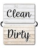 Rustic Wood Clean Dirty Dishwasher