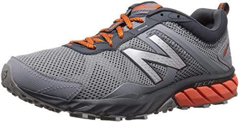 taza Señor constructor  New Balance Men's MT610V5 Trail Shoe-M, Grey/Orange, 13 4E US:  Amazon.com.au: Fashion