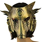 Partyfareast Cosplay Wolf Costume Mask Full Face Mask for Men Women