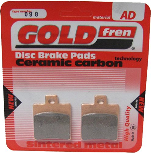 Gilera Stalker 50 Disc Brake Rear Brake Disc Pads Front R/H Goldfren 2003-2006: