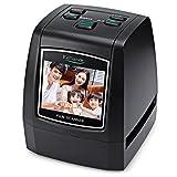 RELLIANCE EC018 Film Scanner, 2.4'' TFT LCD Display, Film Slide & Negative Scanner CMOS Sensor for 35mm, 135, 126KPK, 110, Super 8 Films