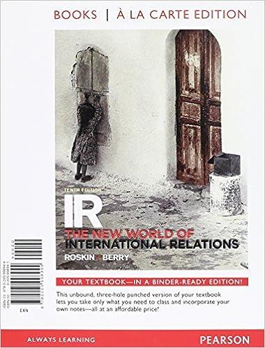 Amazon com: IR: The New World of International Relations, Books a la