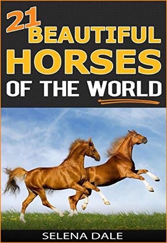21 Beautiful Horses Of The World - Extraordinary Animal Photos & Facinating Fun Facts For Kids: Book 6 (Weird & Wonderful - Series Wildlife Mustang