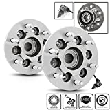 gmc canyon wheels - For Chevy Colorado | GMC Canyon | Isuzu 4WD W/ABS 515110 Pair of 6-Bolt Front Wheel Hub and Bearing Assembly