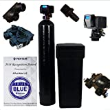 ABCwaters 48k-56sxt-fm pro Fine mesh Fleck Water Softener 48,000 Iron Filter System 48k black or almond