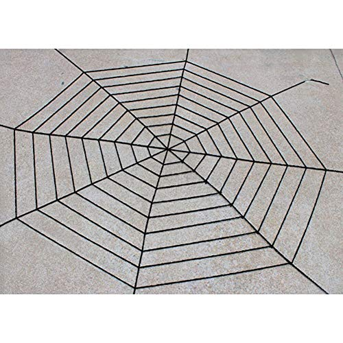 Survial - Black White Creepy Huge Spider Web Halloween Decoration Cobweb Party Bar Gift Wholesale - Decorations Party Party Decorations Cobweb Spider Touch Ceramic Easter Mcckle Halloween Pr]()