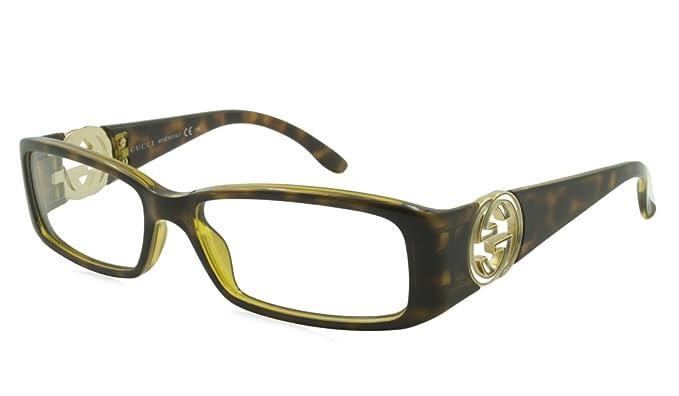 9954ed2a1677 GUCCI EYEGLASSES GG3136 GG 3136 791 OPTICAL RX HAVANA OPTICAL RX:  Amazon.ca: Clothing & Accessories