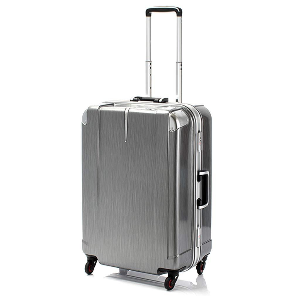 ヒデオワカマツ HIDEO WAKAMATSU スーツケース 85-76441 ステルシー 72L ブラックヘアライン 代引き不可[bg]   B07KHR1LYX